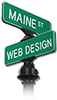 Maine Street Web Design Logo